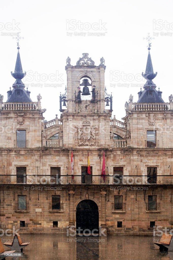 Ayuntamiento de Astorga - foto de stock