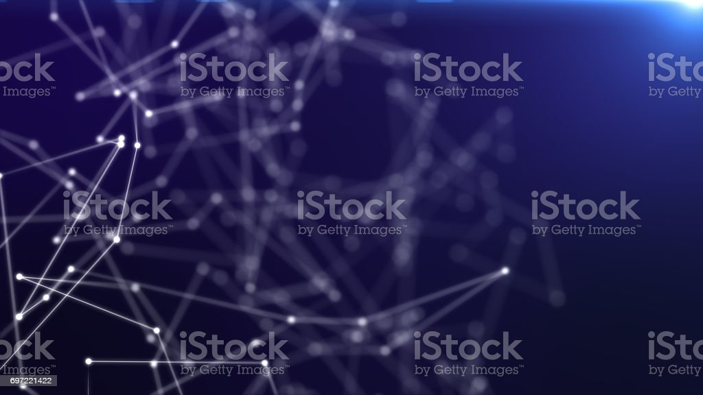 Astract web connection background, futuristic background stock photo