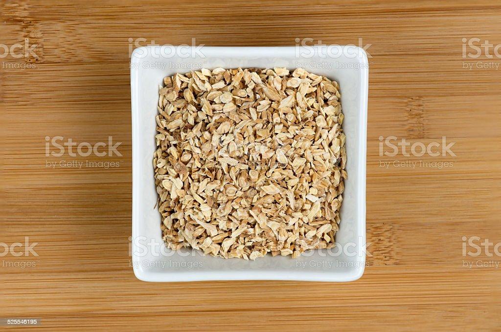 Astragalus membranaceus herbal medicinal root stock photo