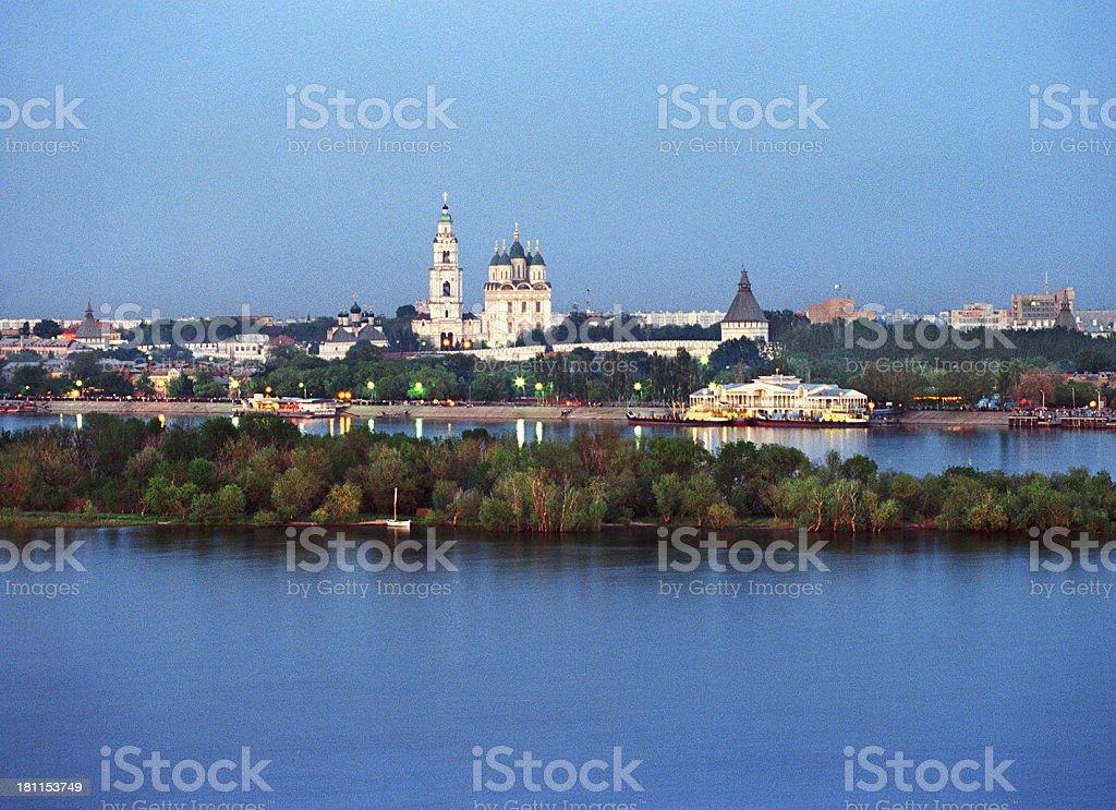 Astrakhan. stock photo
