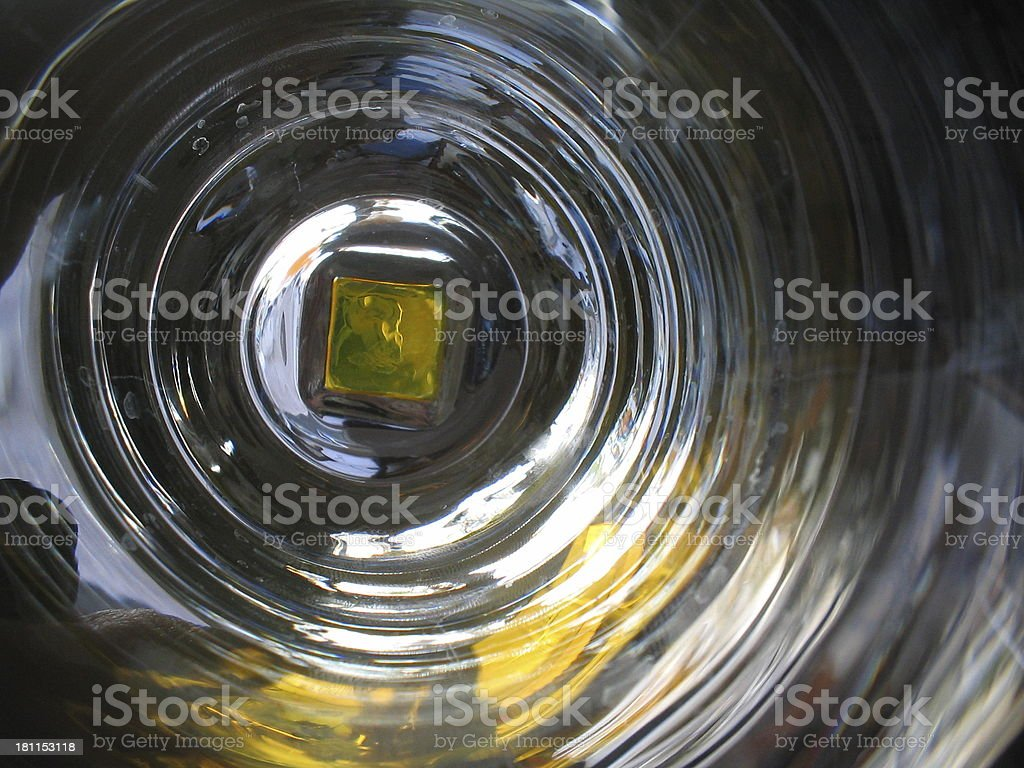Astral gate, Glass reflections stock photo