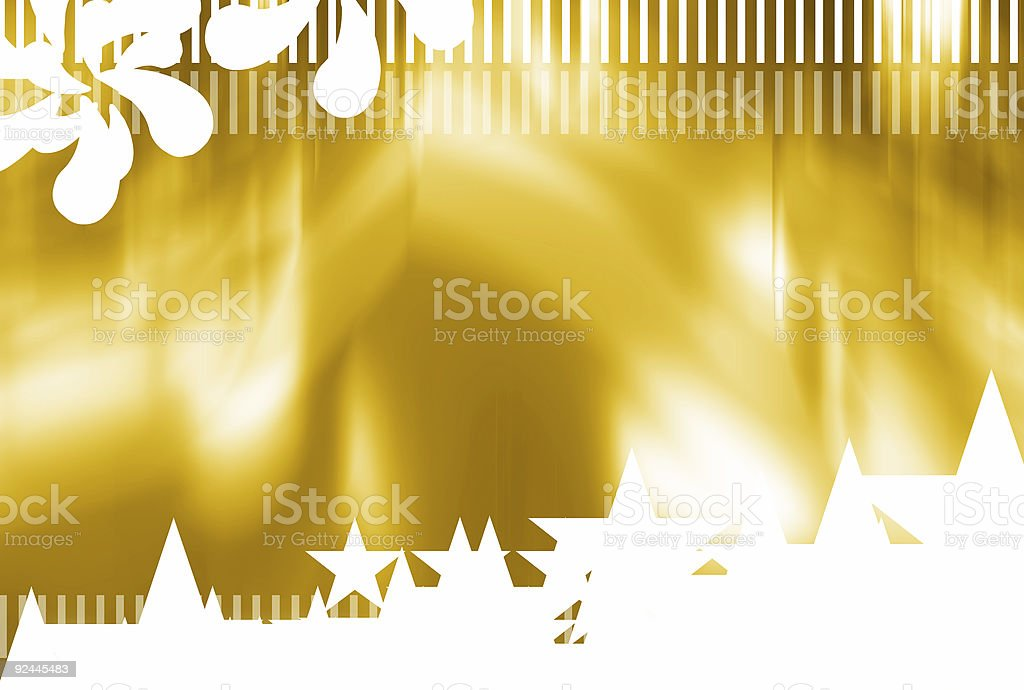 Astral gold 01 stock photo