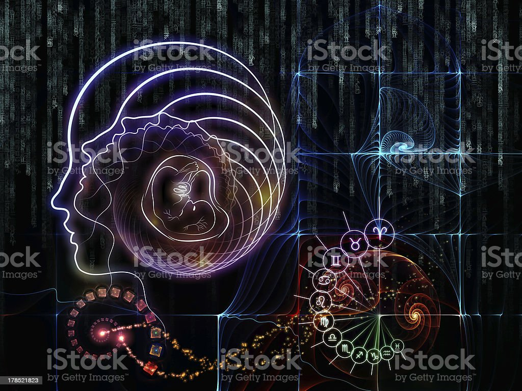 Astral Knowledge royalty-free stock photo