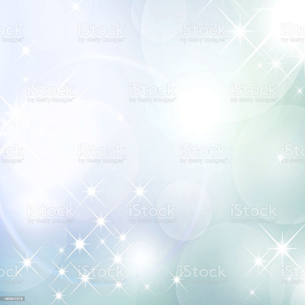 Astral lights abstraction stock photo