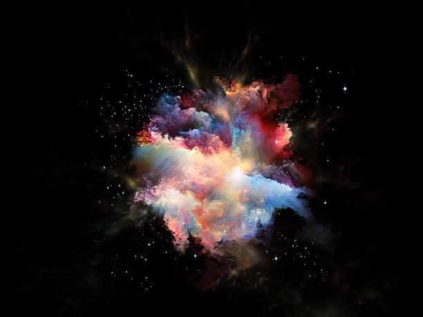 nebulosa astral - big bang foto e immagini stock