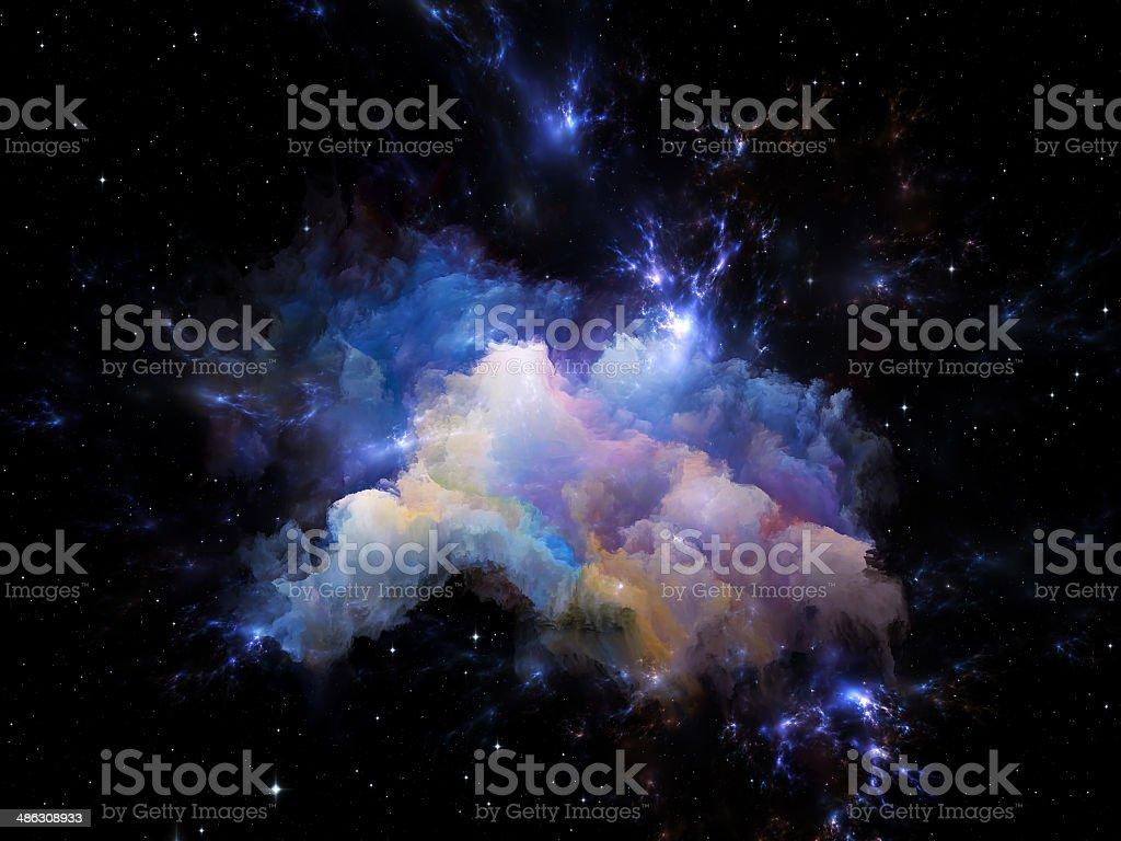 Astral Nebula stock photo