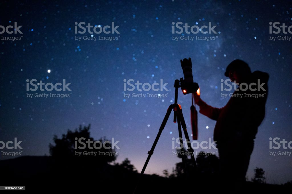 Astral photographer stock photo
