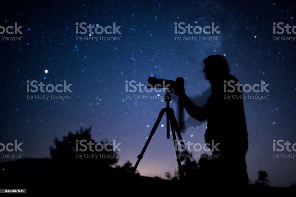 Astral photographer stock photo