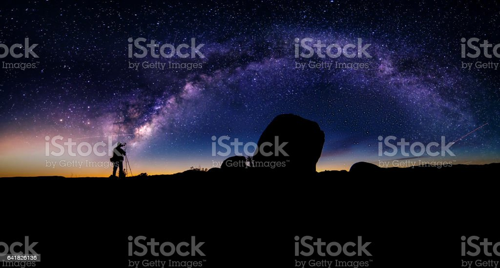 Astro Photographer stock photo