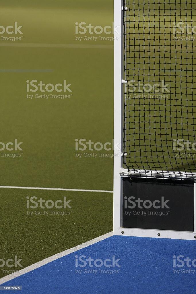 Astro Turf Hockey Field royalty-free stock photo