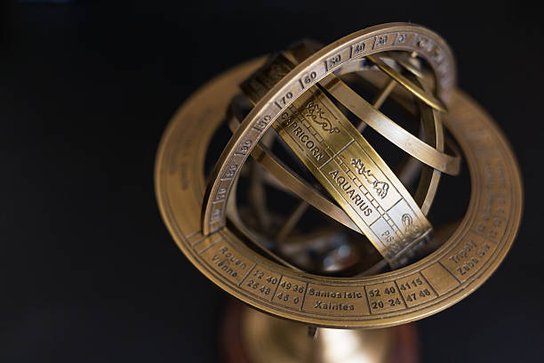 Astrolabio-acquario - foto stock