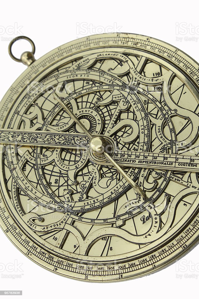 Astrolabio - foto de stock