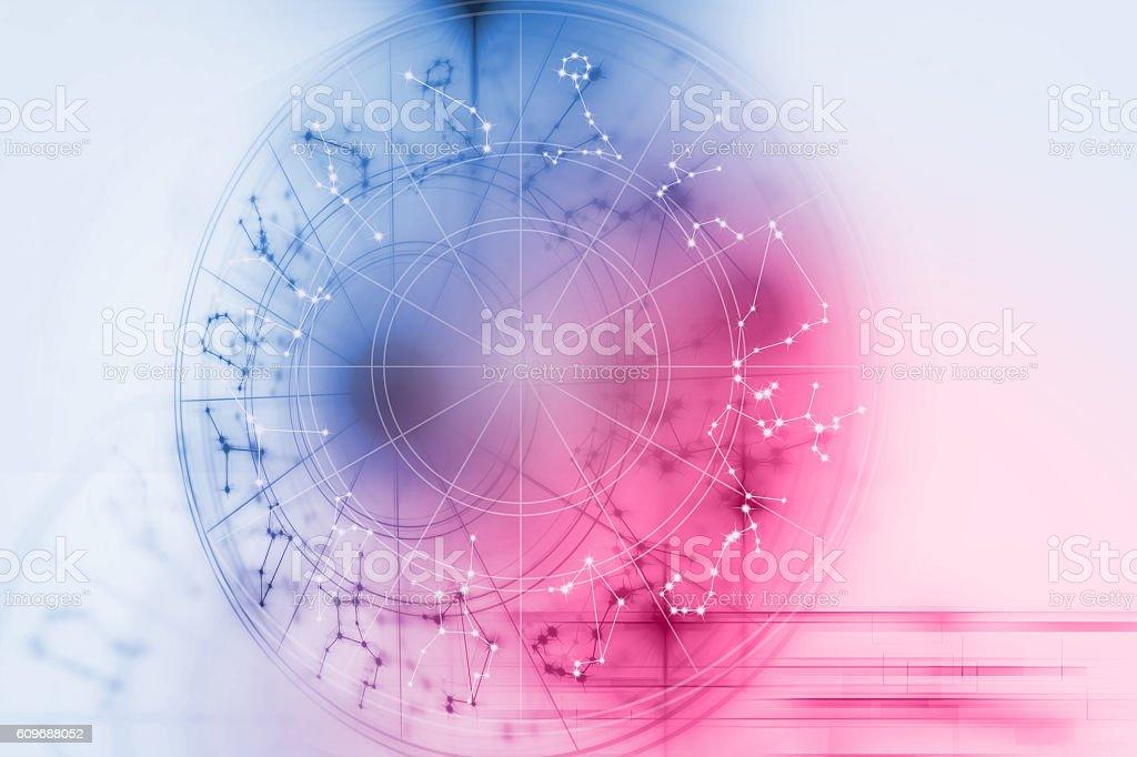 Astrology and alchemy sign background illustration stock photo