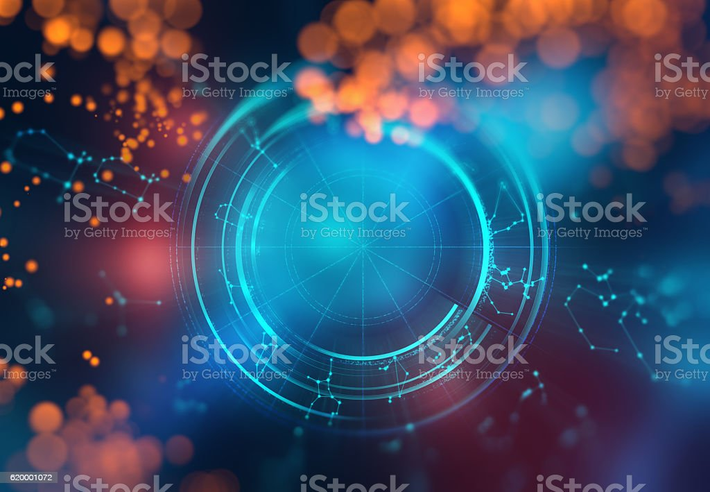 Astrology and alchemy sign background illustration stock photo