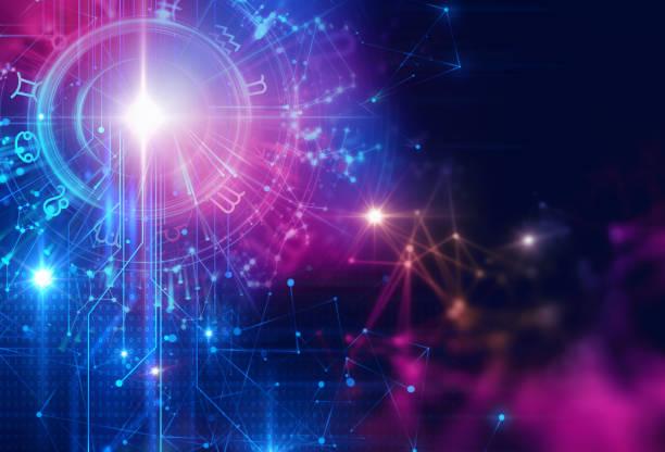 Astrologie und Alchemie Zeichen Hintergrund Abbildung – Foto