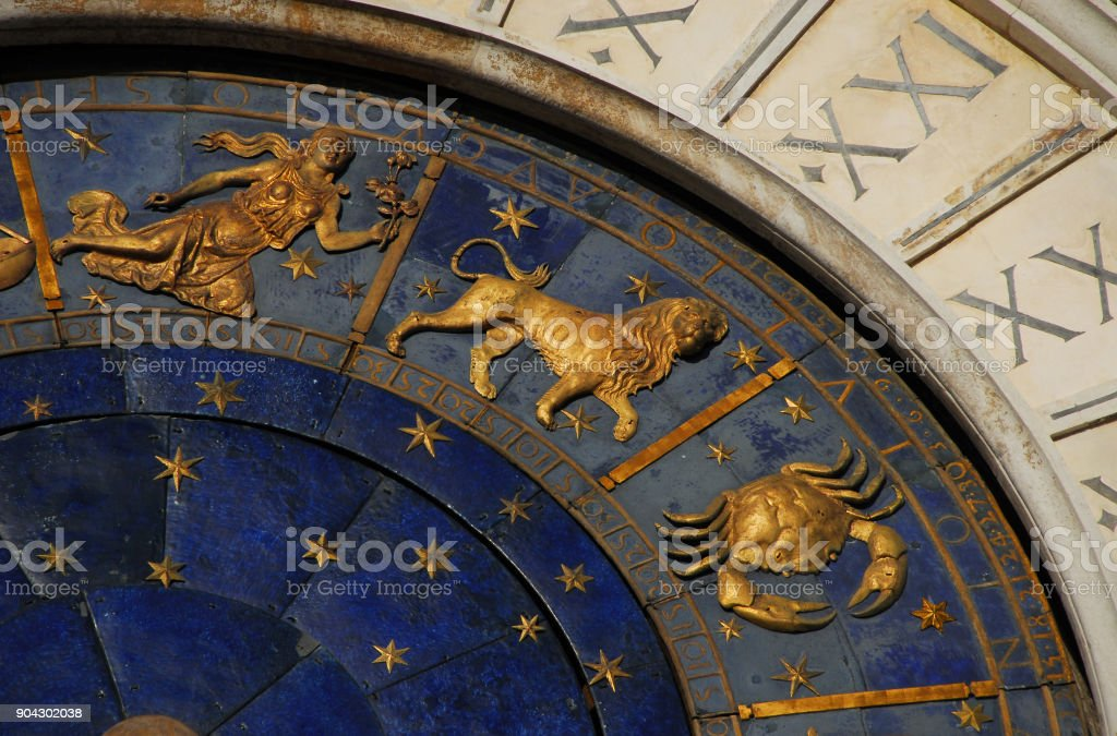 Astrology and Horoscope stock photo
