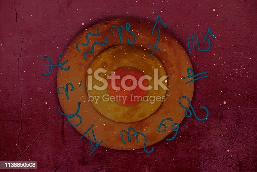 istock Astrology and zodiac signs and symbols 1138850508