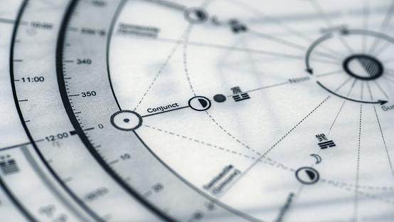 Astrology Chart - Fotografie stock e altre immagini di ...