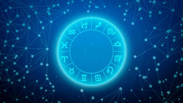 Astrology stock photo