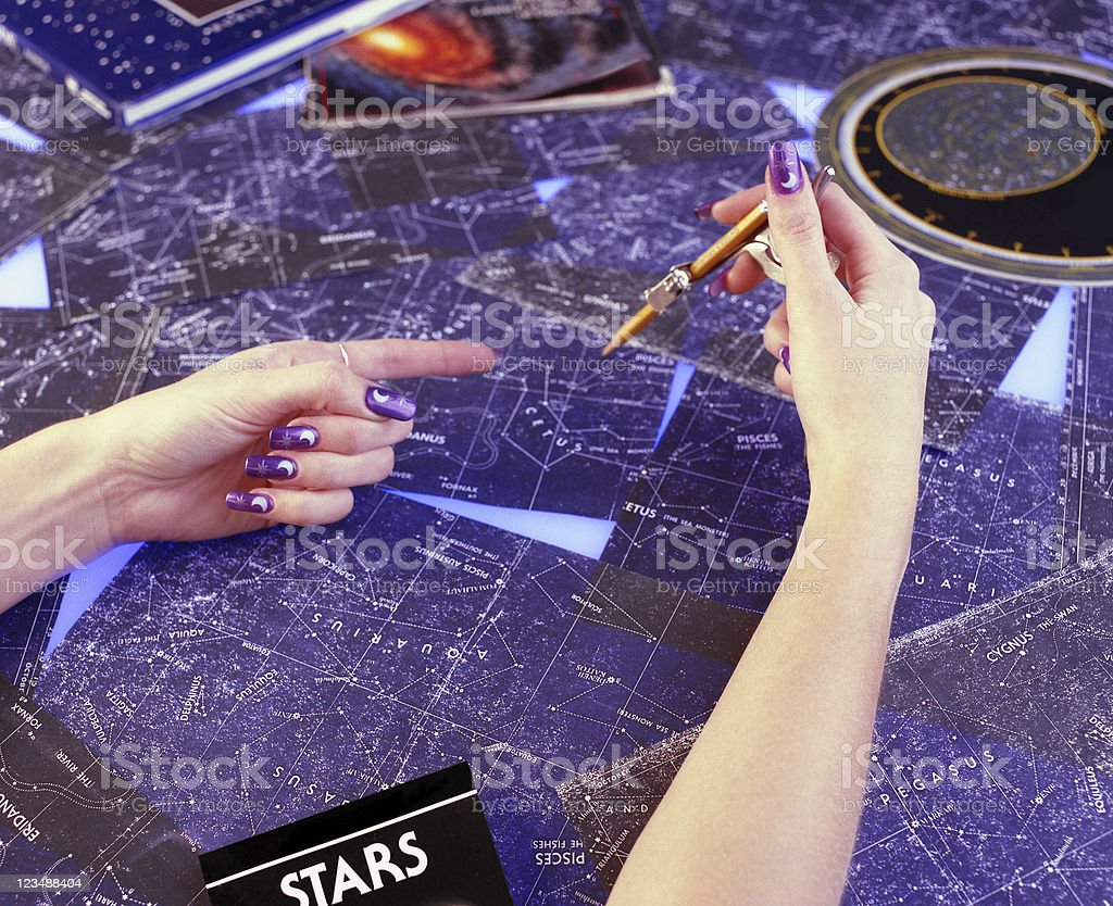 astrology stock photo