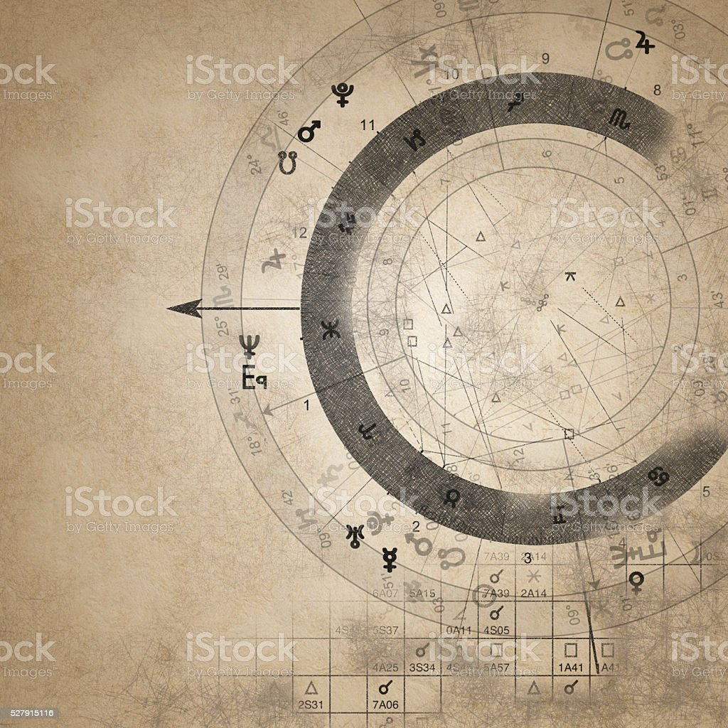Astrology Sign stock photo