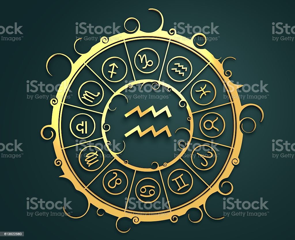 Astrology symbols in golden circle water bearer sign stock photo astrology symbols in golden circle water bearer sign royalty free stock photo biocorpaavc Choice Image