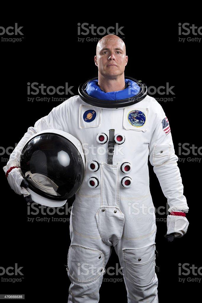 Astronauta con il casco - foto stock