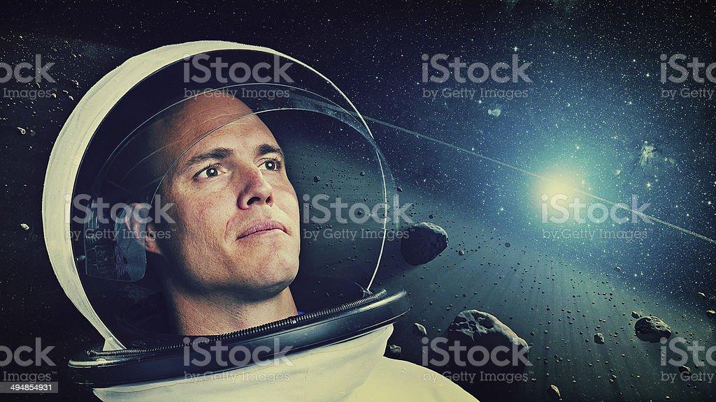 Astronauten im Weltraum – Foto