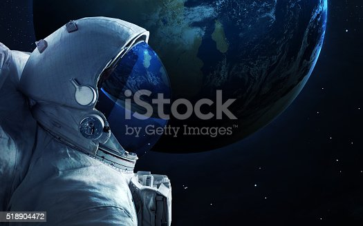 Astronaut in outer space spacewalk elements of this image for Outer space elements
