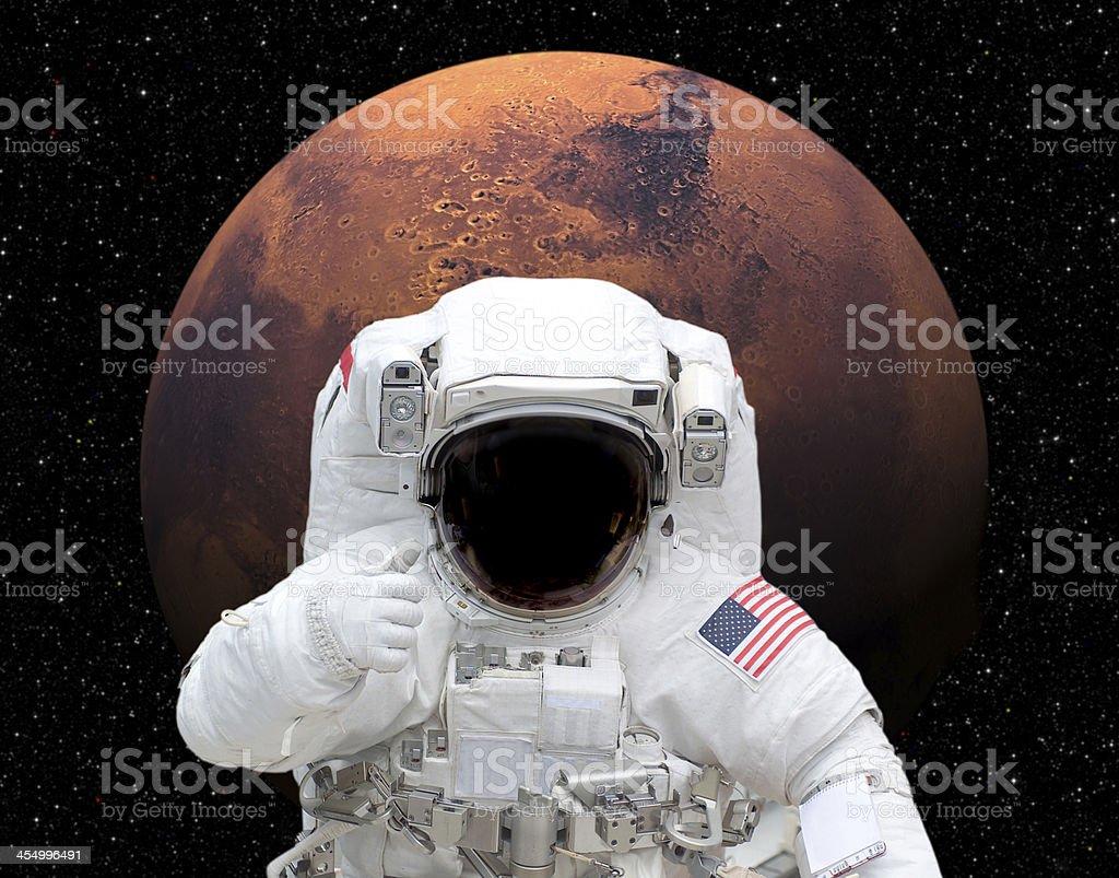 astronauts with ok symbol - 741×581