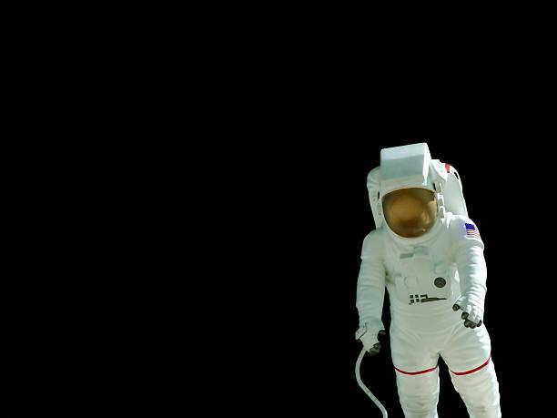 Astronaut on Black stock photo