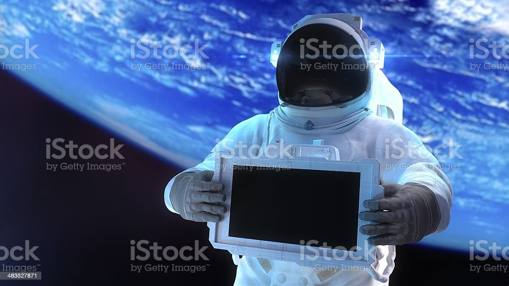 Astronaut stock photo