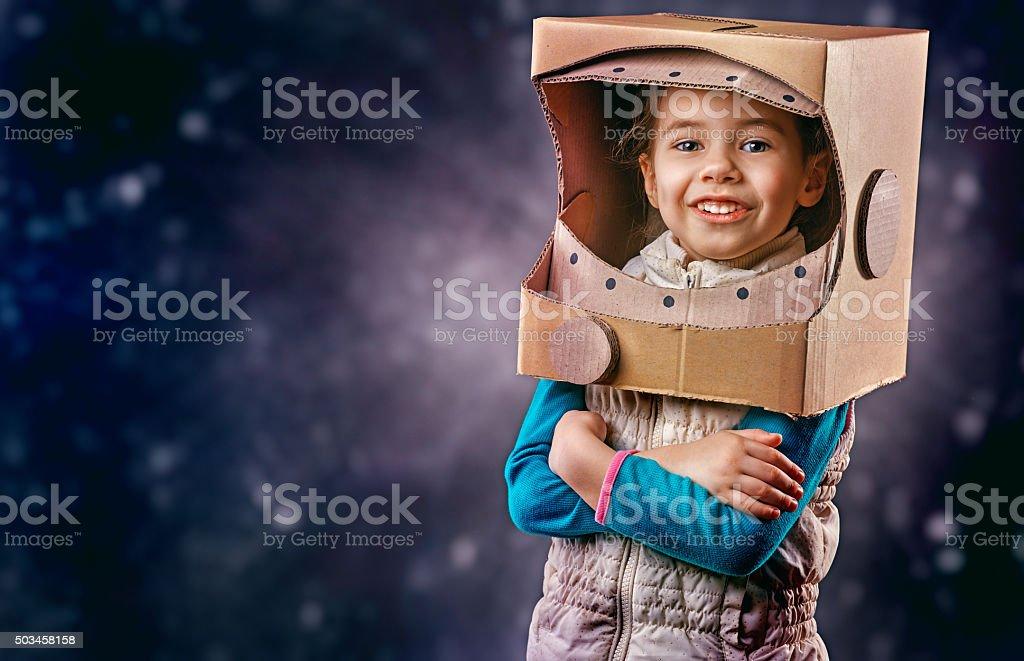 astronaut stock photo