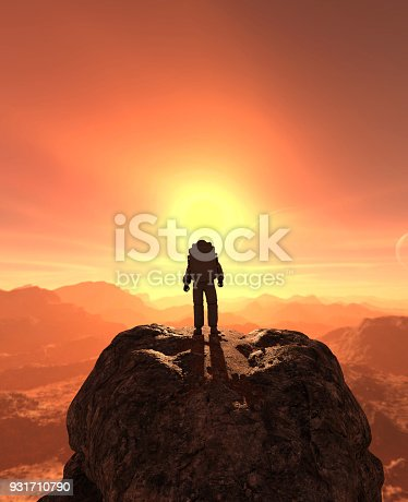 istock Astronaut 931710790