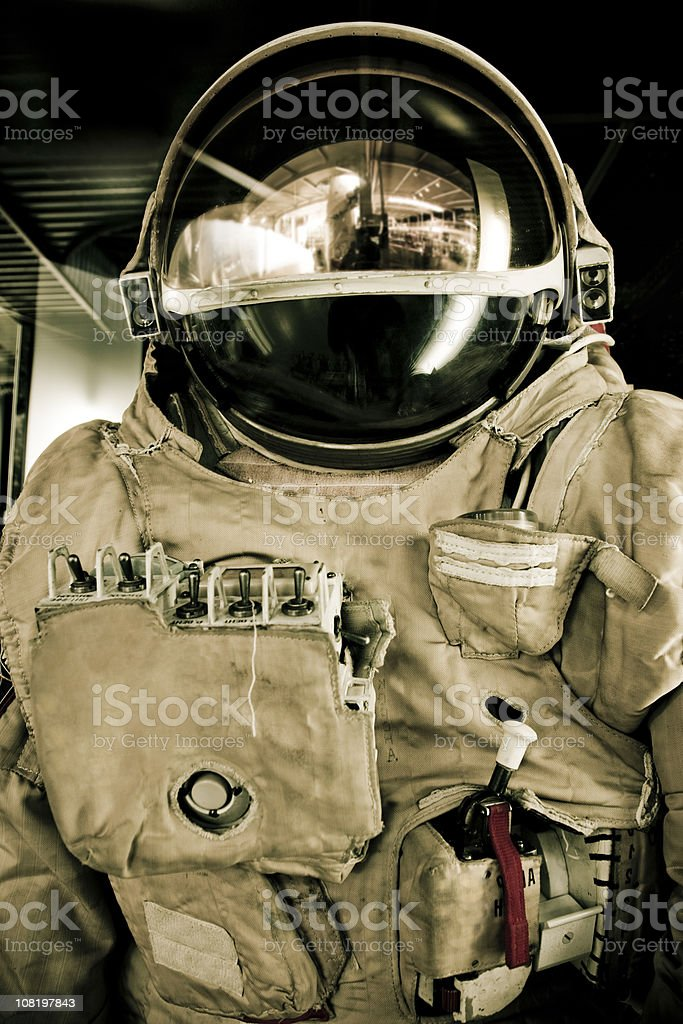 Astronauta Tuta spaziale - foto stock
