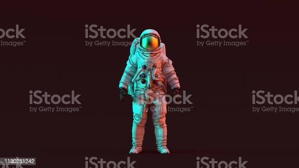 Astronaut with gold visor and white spacesuit with red and blue moody picture id1130251242?b=1&k=6&m=1130251242&s=612x612&h= kzd fyoyikk2ppfjy2xpea6kiao tzmqooudhjb eg=