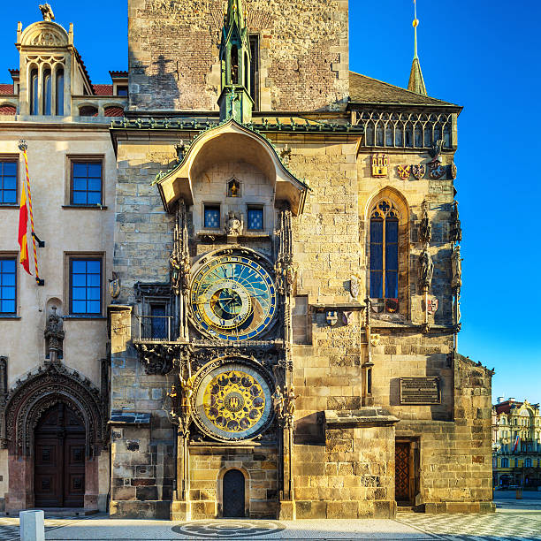 Astronomical clock in Praque, Czech Republic