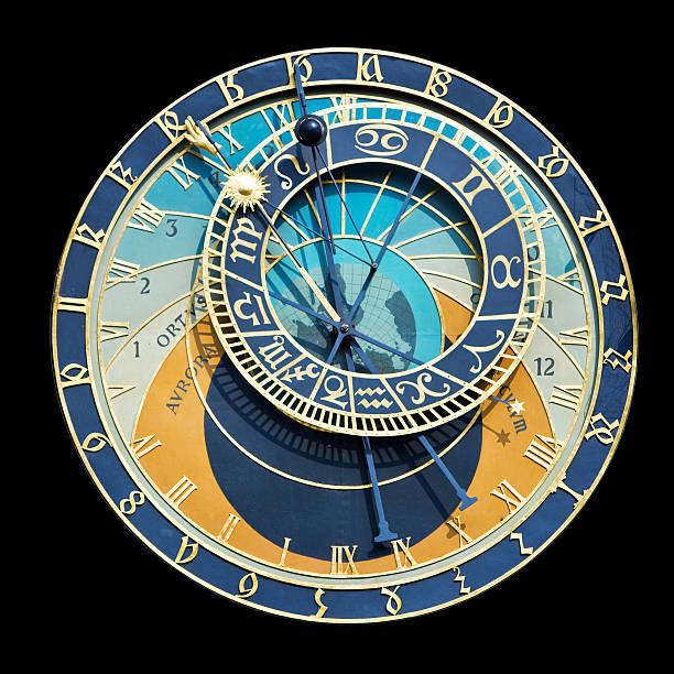 Astronomical Clock Astronomical clock in Praque astronomical clock prague stock pictures, royalty-free photos & images