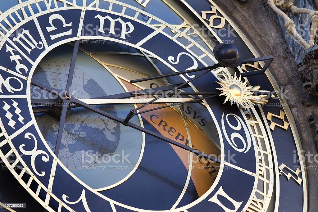 Astronomical Clock Prague Czech Republic royalty-free stock photo