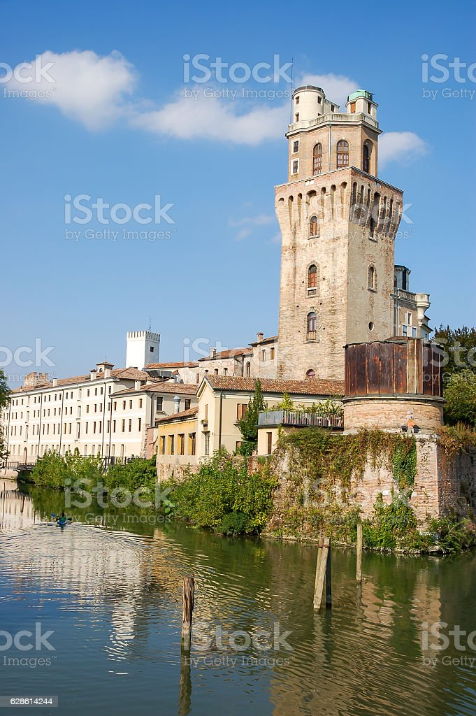 Astronomical Observatory La Specola Tower stock photo