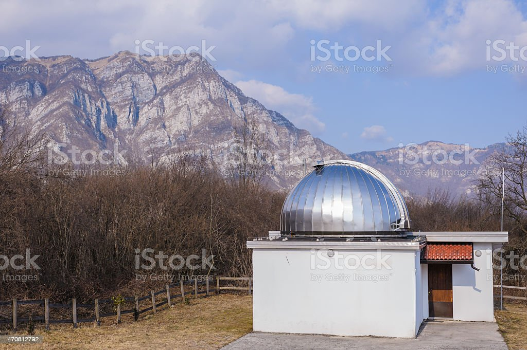 Astronomical observatory stock photo