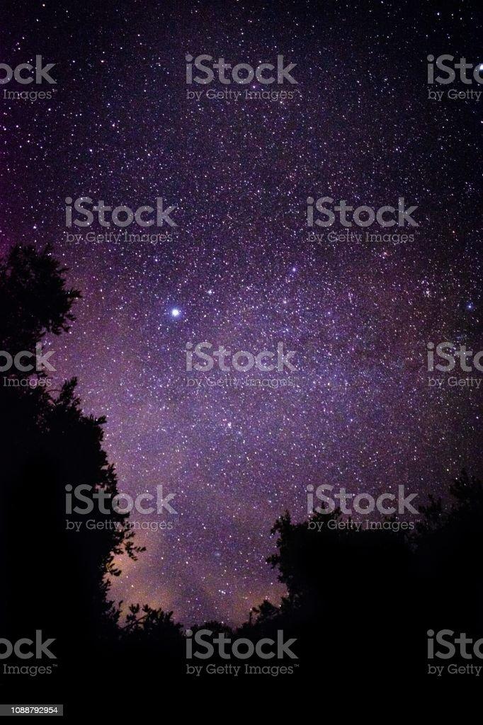 Astrophotography stars planets satellites sky
