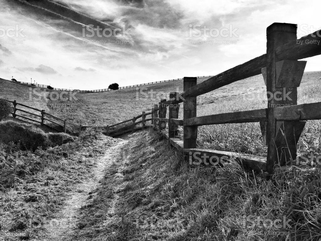 Campo de Asturias - foto de stock
