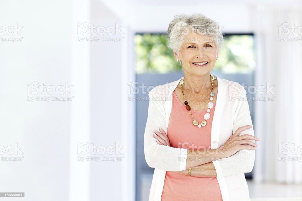 Astute and assured - Modern senior women - Royalty-free Active Seniors Stock Photo