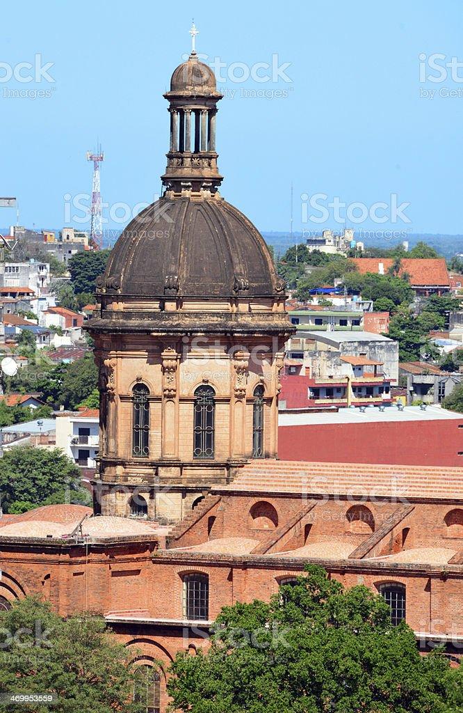 Asunción, Paraguay: Church of the Incarnation stock photo