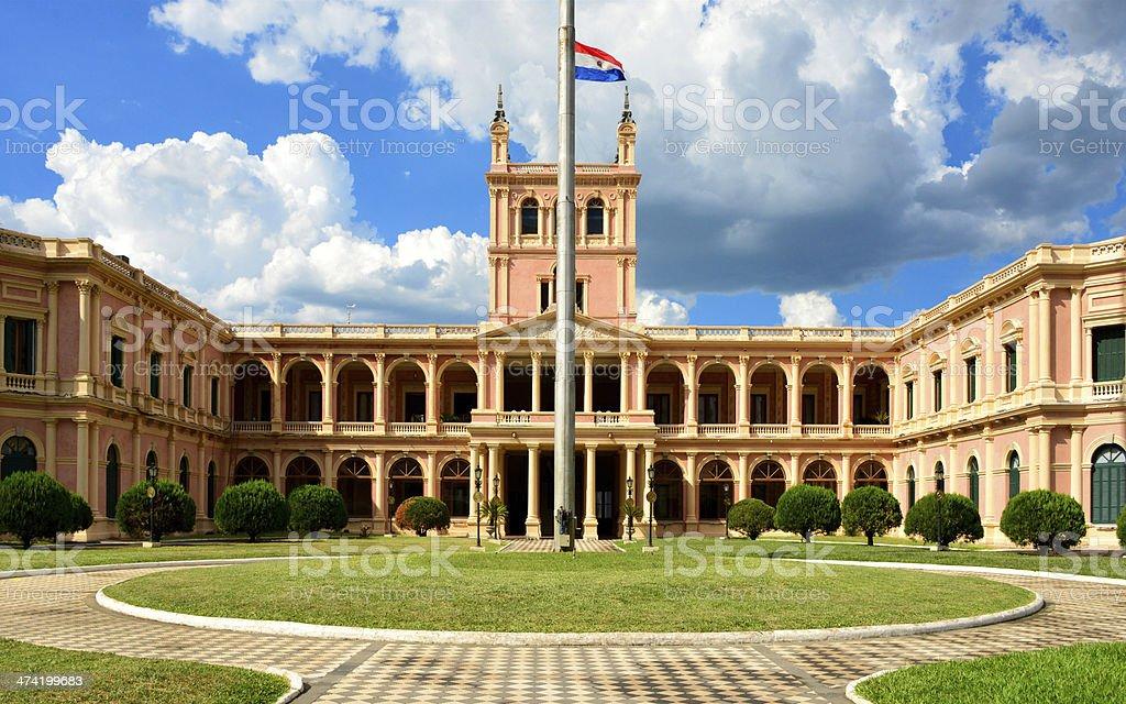 Asunción, Paraguay: government HQ stock photo