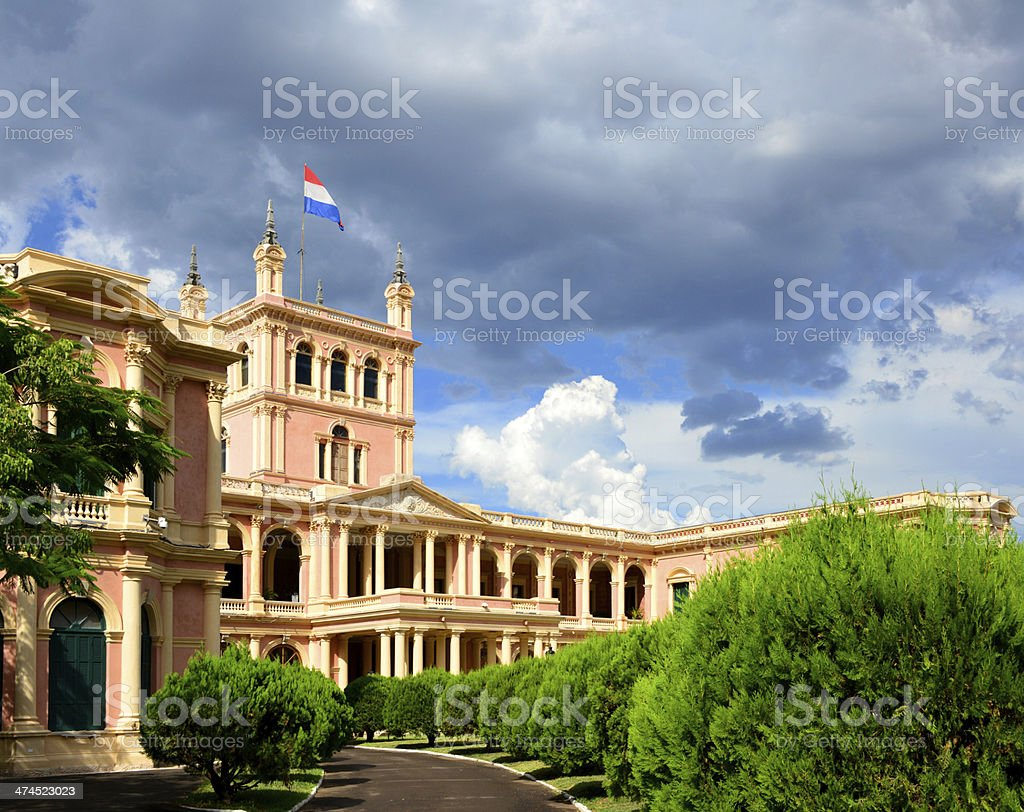 Asuncion, Paraguay: government HQ stock photo