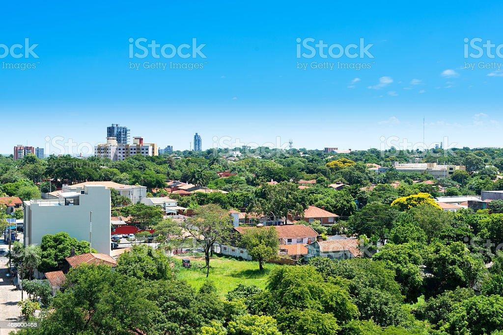 Asuncion Paraguay stock photo