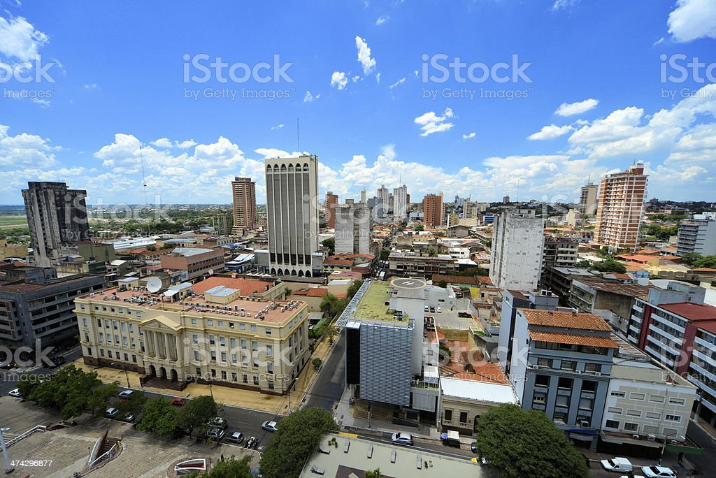 Asuncion, Paraguay: skyline stock photo