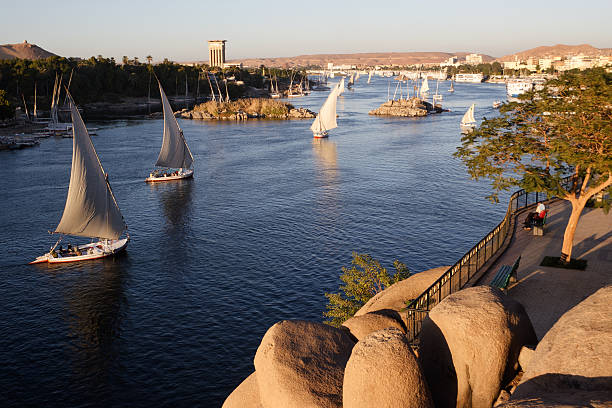 Aswan, Egypt stock photo